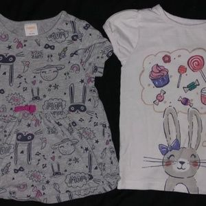 girls gymboree 2 shirts